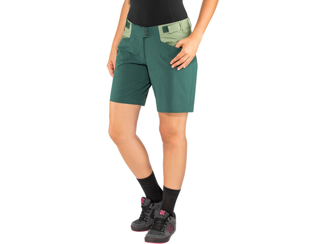 Ziener Nariam X-Function Shorts Women spruce green